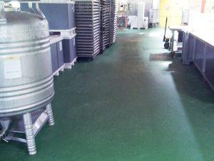 pavimentazione poliuretano cemento