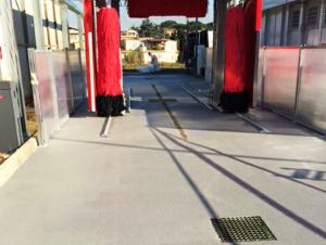 pavimentazione in poliuretano cemento